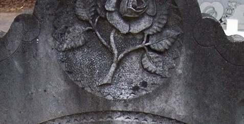 Snead, William H. Tombstone Detail, Clearwater Cem., Franklin Co., Texas