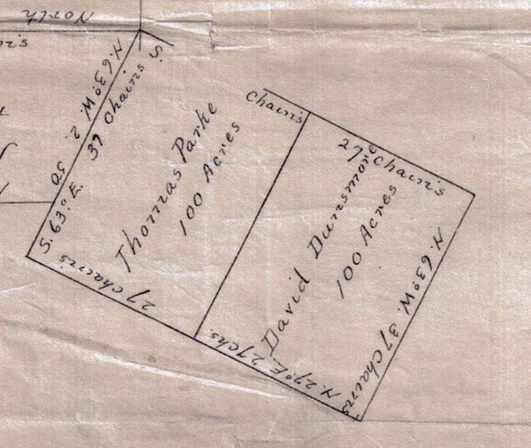 1787 D. Densmore et al. 100 acres Nova Scotia