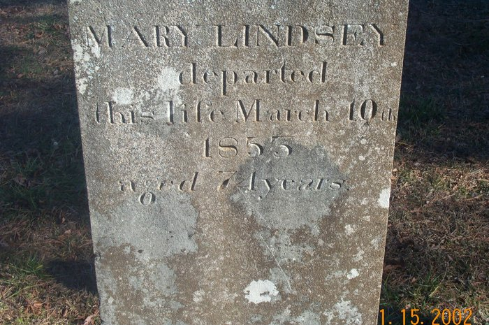 Dinsmore, Mary Jane Lindsey, Tombstone, Lindsey Cem., Lawrence Co., Alabama