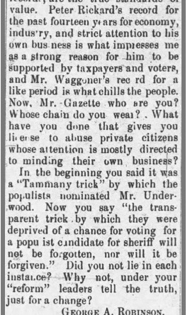 Robinson, George A., Corvallis Times, 24 May 1896, p. 3, col. 2 copy 3