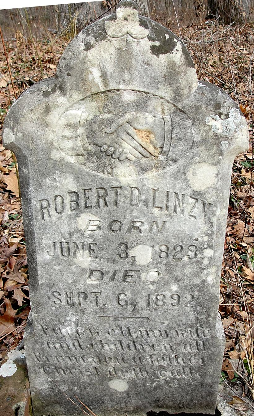 Lindsey, Robert D. Tombstone, Hovater Cem., Franklin Co., Alabama